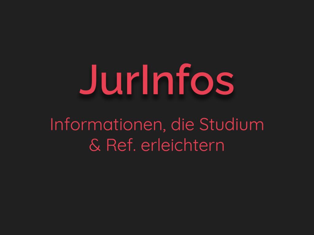 JurInfos