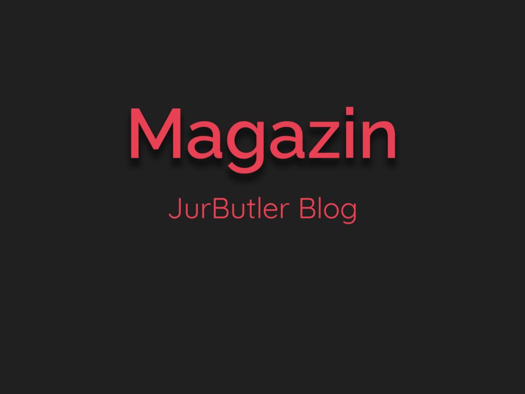 JurButler Magazin